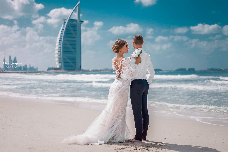 свадебные фото в дубае