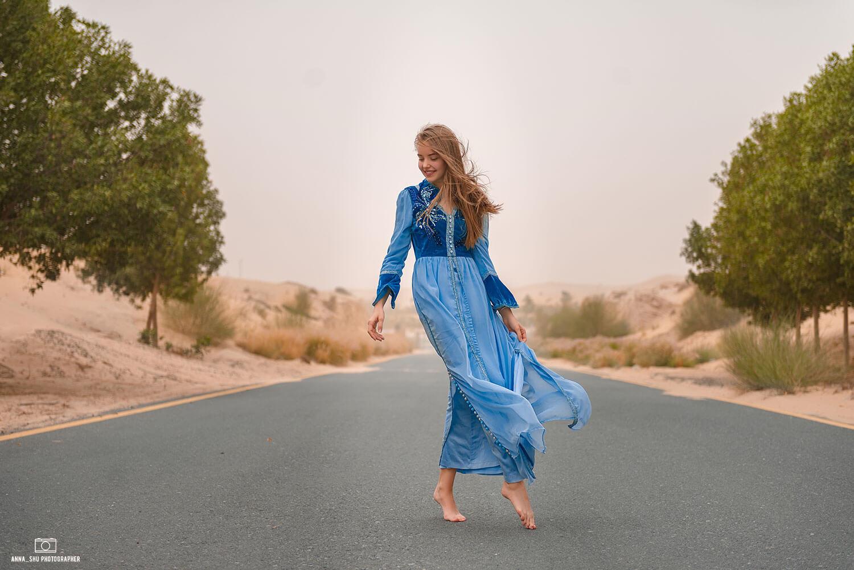 оджеда для фотосессии в Дубай